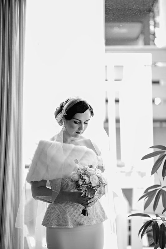 Wedding makeup and hair for a classic glamorous vintage look in Sydney, mobile makeup artist